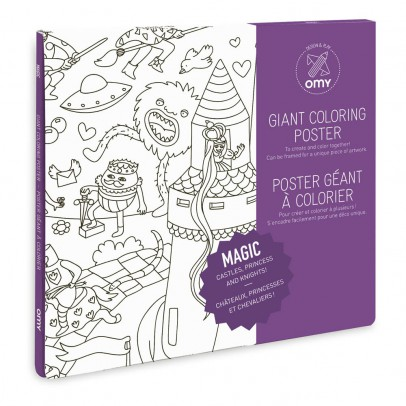 Omy Gigantic Magic Color Poster-listing