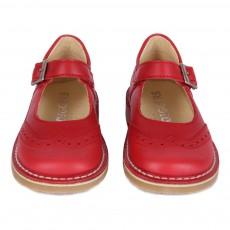 Diggers Babies-Schuhe mit Blumenspitze Maryjane -listing