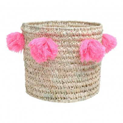 Rose in April Louis pompom basket D28 cm-listing
