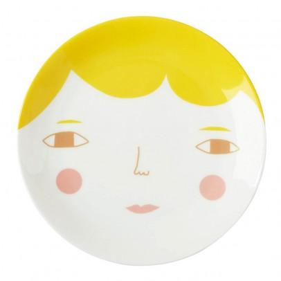 Donna Wilson Assiette en céramique visage-listing