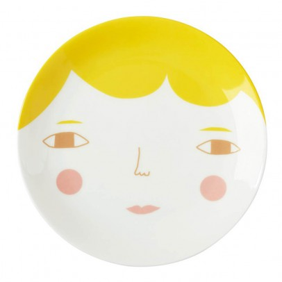 Donna Wilson Face ceramic plate-listing