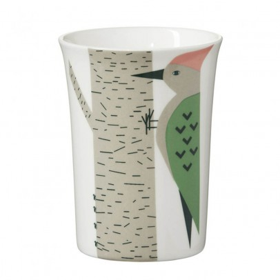 Donna Wilson Green woodpecker ceramic cup-product