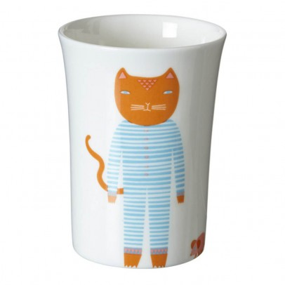 Donna Wilson Bicchiere in ceramica Gatto-listing