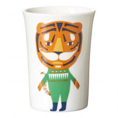 Vaso cerįmica tigre