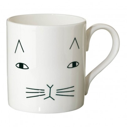 Donna Wilson Taza cerámica gato-listing