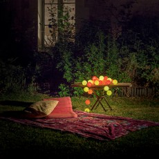 La case de cousin Paul Guirlande lumineuse outdoor 24 boules Maï Taï-listing