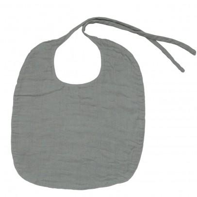 Numero 74 Round bib - grey-listing