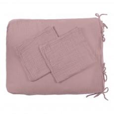 Numero 74 Funda de colchón de cambiado - Rosa envejecido-product