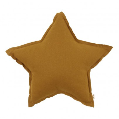Numero 74 Star cushion - mustard yellow-listing