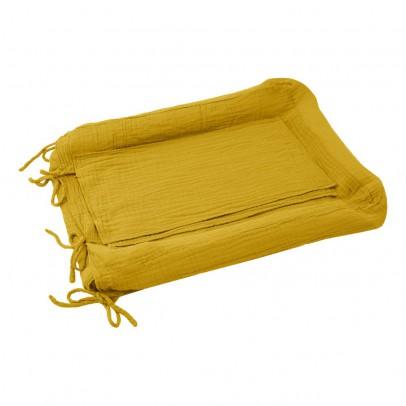 Numero 74 Funda de colchón de cambiado - Amarillo Tornasol-listing