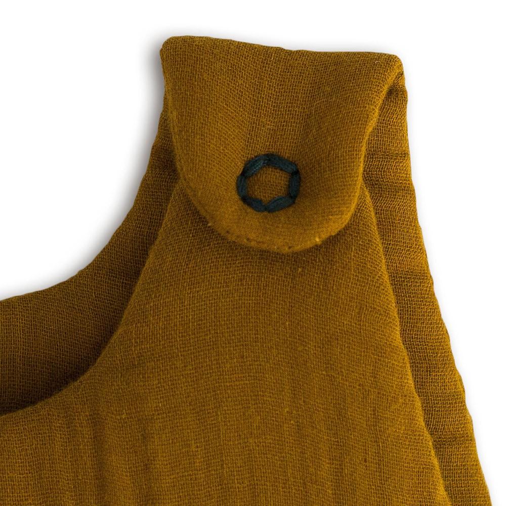 Baby sleeping bag - mustard yellow-product