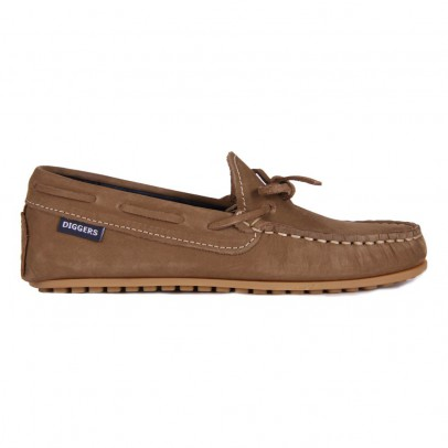 Diggers Leather Laced Mocassins-listing