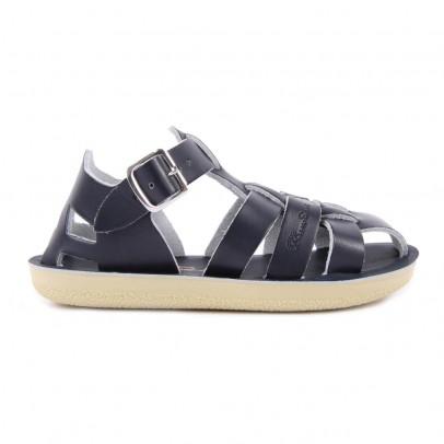 Salt-Water Shark Leather Waterproof Sandals-listing