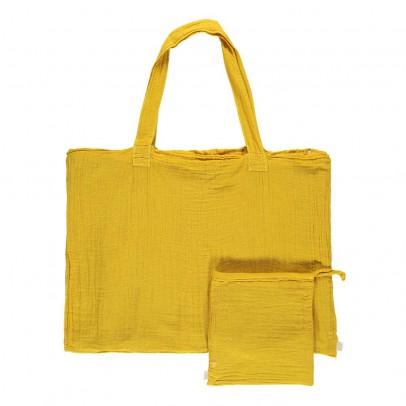 Numero 74 Bolso de algodón y funda - Amarillo girasol-product
