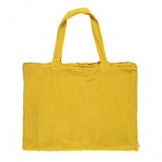 Numero 74 Einkaufstasche aus Baumwolle mit Säckchen - sonnenblumengelb-product