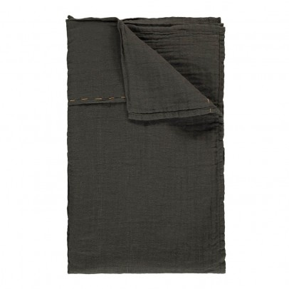 Numero 74 Thin sheet or curtain clip - Charcoal gray-product