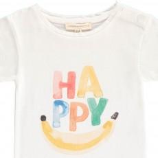 Hundred Pieces T-shirt Happy Bébé-listing