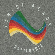 Californian Vintage T-Shirt Surf Vague-listing