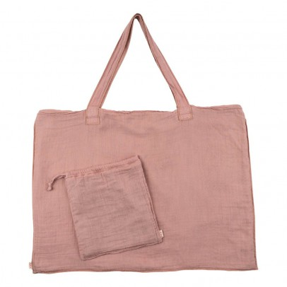 Numero 74 Cotton shopping bag and envelope - Old Rose-product