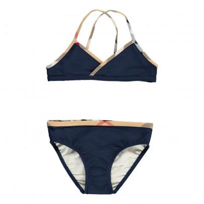Burberry Crosby Tartan Trimmed Bikini-listing