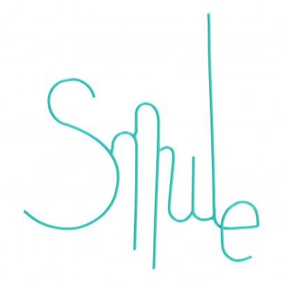 Zoé Rumeau Mot Smile en métal peint-product