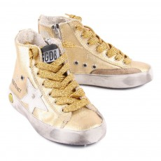 Golden Goose Francy Zip-Up Sneakers-listing