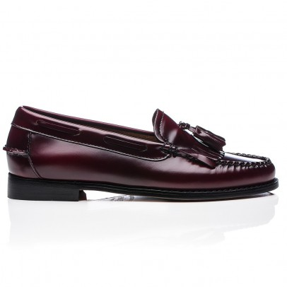 Bass Leather Kiltie Loafers-listing
