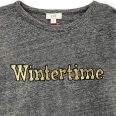 "Zef T-Shirt ""Wintertime"" Brodé-listing"