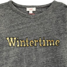 "Zef T-Shirt ""Wintertime""-listing"