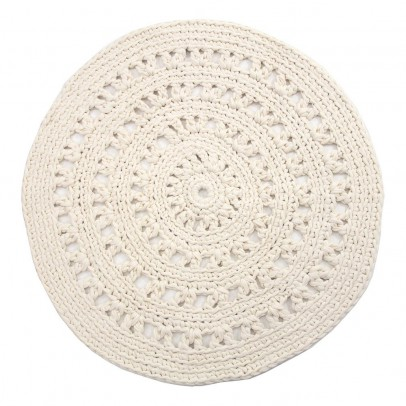 Naco Tappeto rotondo crochet-listing