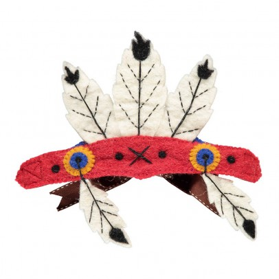 Sew heart felt Indianer-Kopfschmuck-listing