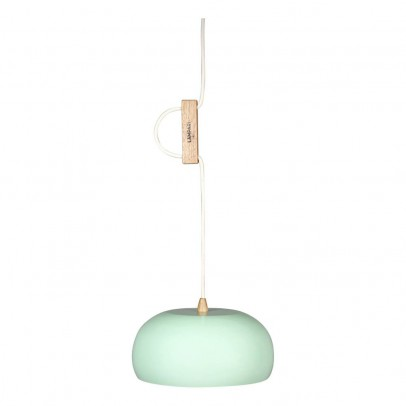 Lampari Rhoda ceiling lamps - Oak color and metal -listing