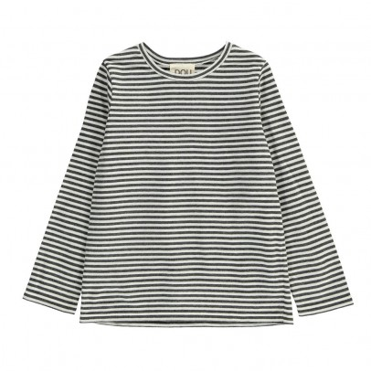 Douuod Striped Oca T-Shirt-listing