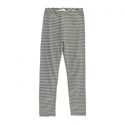 Douuod Striped Echidna Leggings-listing