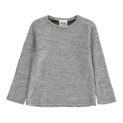 Douuod Knitted Alce T-Shirt-listing