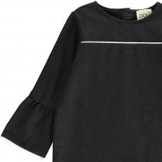 Douuod Kleid aus Molton mit Einfassung Daino-listing