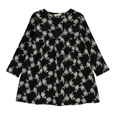 Douuod Kleid mit gestickten Blumen Delfino-listing