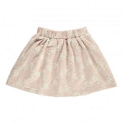 Douuod Embroidered Flower Lombrico Skirt-listing