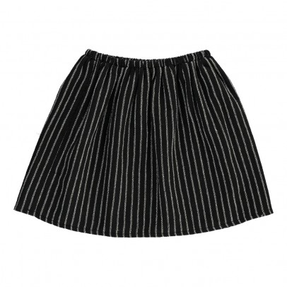 Douuod Striped Linen Condor Skirt-listing