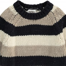 Douuod Pullover Rayas Tricolor Coyote-listing