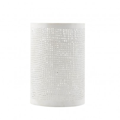 House Doctor Hessian-Effect Candle Holder-listing