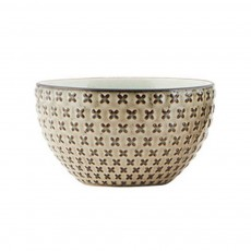 product-House Doctor Cross-Patterned Geo Bowl