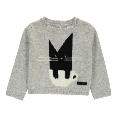 Burberry Cat Pullover-listing