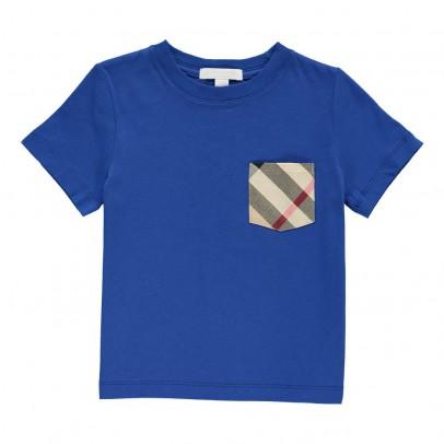 Burberry T-Shirt Poche Tartan-listing