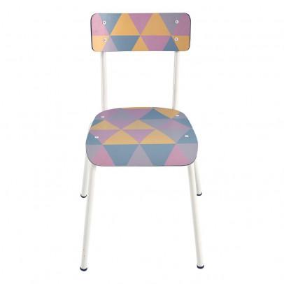Les Gambettes Chaise adulte Suzie - Imprimé Géométrique-listing