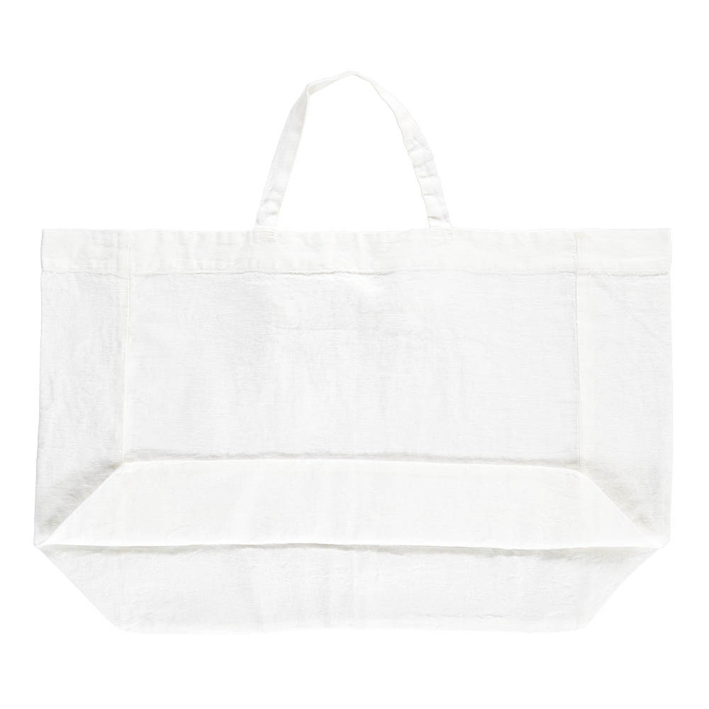 Giant Washed Linen Tote Bag -product