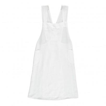 Linge Particulier Delantal japonés lino lavado - espalda cruzada - adulto-listing