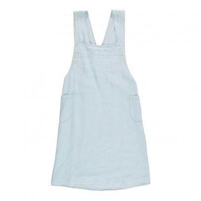 Linge Particulier Adult Cross back Washed Linen Japanese Apron Dress-listing