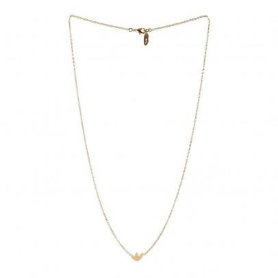 Titlee Collana ottone dorato Oro fino Flatbush-listing