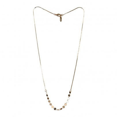 Titlee Gold-Plated Brass Glenwood Necklace-listing